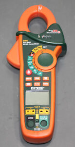 Extech Multimeter Ex623 400a Dual Inp Ac dc Clamp Meter Ncv Ir Thermometer