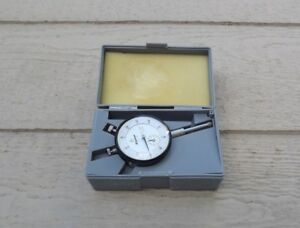 Mitutoyo 2416 Dial Indicator 001 1 000 Excellent Made In Japan