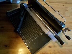 12 Paper Cutter A4 Paper Clamp Industrial Splendid Metal Trimmer Street Price