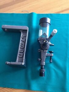 Lyman No 55 Powder Measure Matching Stand and Baffle   # 7767783   Used