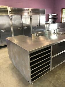 Delfield Commercial Stainless Steel Pickup prep Station