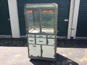1920s 30s Burch Mfg Popcorn Popper Vending Machine Vintage Movie Theater