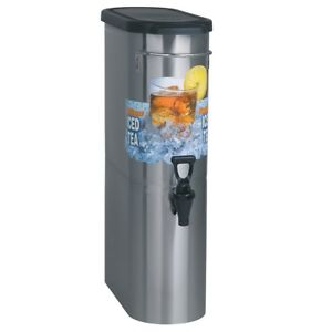 New Bunn Tdo n 3 5 Commercial Iced Tea Dispenser With Solid Lid Oval