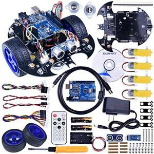 Arduino Project Smart Robot Car Kit With Two wheel Drives uno R3 Board tracking