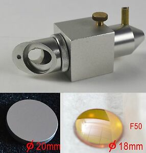 Laser head znse len For Co2 Laser Engraving Machine Laser Tube reflection Mirror