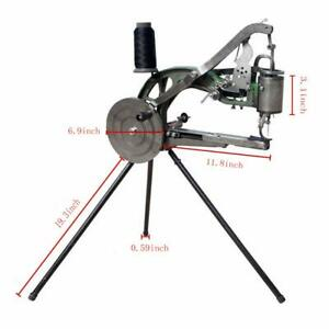 Industry Leather Cobbler Shoe Repair Machine Dual Cotton Nylon Line Hand Sewing