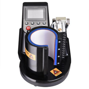 Automatic Pneumatic Mug Cup Heat Press Transfer Sublimation Machine