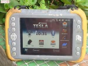 Touch Screen Physical Damage Topcon Tesla Rugged Tablet Data Collector win 6 5