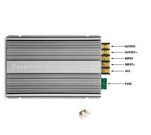 36v 48vdc To 13 8vdc 30a Step Down Power Voltage Converter Enable Terminal