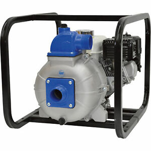 High pressure Water Pump 2in Ports 7800 Gph 108 Psi 206cc Briggs Intek Engine