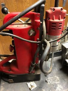 Milwaukee 4203 Electromagnetic Drill Press With Drill Motor
