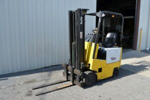 Yale Erc 040 4000 Electric Forklift 183 Side Shift