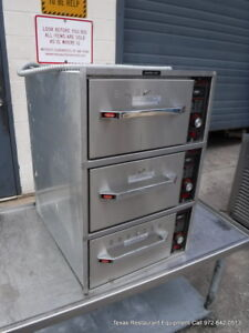 Hatco Hdw 3bn Electric Triple Drawers Built In Warmer