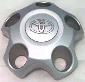 07 19 Toyota Tundra Silver 18 Inch 5 Spoke Wheel Hub Center Cap Oem Factory Used