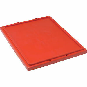 Quantum Storage Bin Lid Red Model Lid 181 R