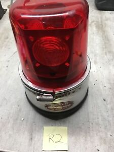 Vintage 1991 Red action Lite By North American Signal Co Md Bb p Fast Ship