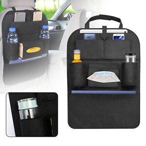 Auto Car Seat Back Bag Organizer Storage Ipad Phone Holder Multi Pocket Hanging