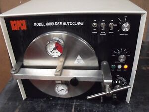 Napco 8000 dse Autoclave Steam Sterilizer Medical Dental Tattoo Microbiology Lab
