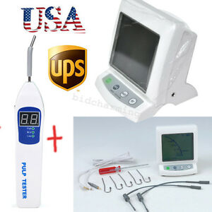 usa Dental Apex Locator Root Canal Finder Pulp Tester Testing Teeth Nerve Ce