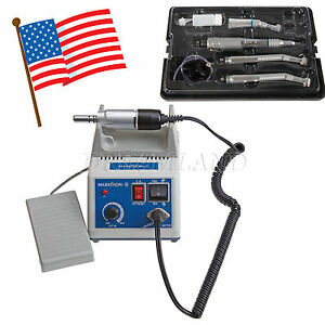 Dental Lab Marathon Electric Micro Motor N3 High Low Speed Handpiece Kit Hotzt
