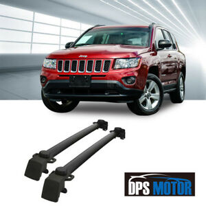 Oe Style Roof Rail Rack Crossbar X Bar Luggage Carrier For 2011 16 Jeep Compass