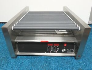 Star Grill max Pro 45scre Duratec Hot Dog Electric Roller Grill 120v