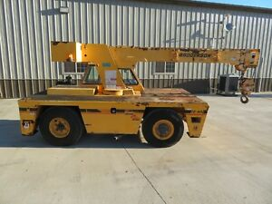 2008 broderson Ic80 3g Carry Deck Crane Lmi 17 000 Lbs Needs Work Grove Iowa
