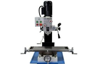 Pm 727 m Vertical Bench Top Milling Machine Geared Head No Stand Free Shipping