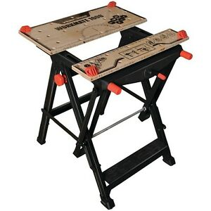 Workmate Workbench Black & Decker Jobsite and Project Bench Portable WM1000 Fold