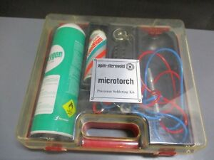 Used Amp sterngold Microtouch Soldering Kit For Dental Laboratory Procedures
