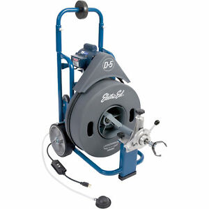 Electric Eel Drum style Electric Drain Cleaner d5k 3 4ic