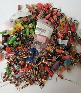 Circuit Board Parts And Pieces Large Mixed Lot Resistor Capacitor Repair Tech