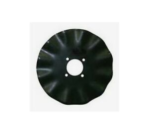 Coulter Blade 16 Inch X 4mm 13 wave 3 4 Inch Wide 4 Inch Center Hole 5 25