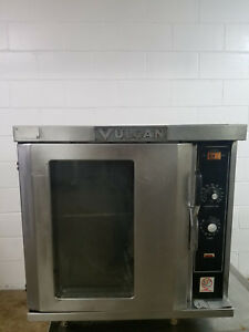 Vulcan Half Size Convection Oven Et 4 Works Just Slow Firing Up Tested 208v