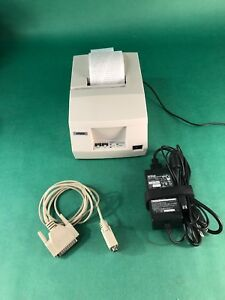 Epson Tm u325d Model M133a Receipt Printer With Power Supply And Rs232 Cable