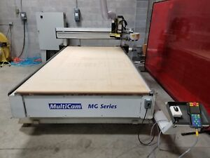 Multicam Mg 204 Cnc Router With All Equipment Included