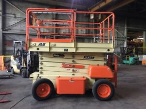 Jlg Scissor Lift 39 Ft Max Lift Electric Model 39 69 1000 Hrs