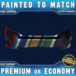 Painted To Match Rear Bumper Cover Exact Fit 2016 2020 Honda Civic Sedan 16 20