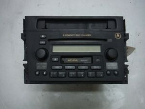 2001 Acura Cl Type S A T Factory 6 Disc Cd Player Radio Oem 2002 2003