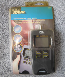 Ideal Industries 33 856 Vdv Multimedia Cable Tester