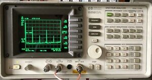 Hp Agilent 8590a Spectrum Analyzer 10khz 1 5ghz Tested