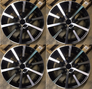 19 Accord Hfp Style Wheels Rims Black Fits Honda Accord Acura 2008 2018