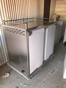 Stainless Steel Delievery Cart Food