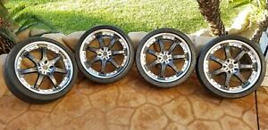 Volk Racing Gt 7 Rays Engineering 19 Inch 19x8 49 Offset 5x114 3 Bolt Pattern