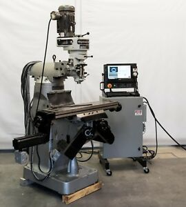 2016 Sharp Lmv 9x42 3 axis Cnc Knee Mill With Explosion Proof Motors