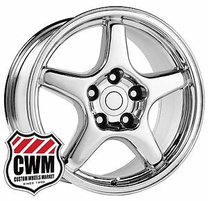 Oe Performance 103c 17 Inch 17x9 5 Corvette C4 Zr1 Wheels Rims Chrome 1988 1996