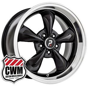 Oe Replica 106b 17 Inch 17x8 Ford Mustang Bullitt Replica Black Wheels Rims