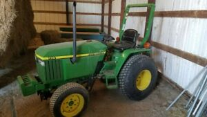 John Deere 790 Tractor Bank Liquidation Sale
