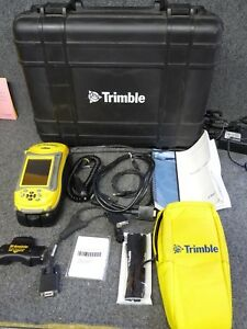 Trimble Geo Xt 2008 Series With Arcpad 10 And Terrasync Trimble Case cables