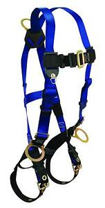 Falltech 7018 Contractor Full Body Harness Universal Fit